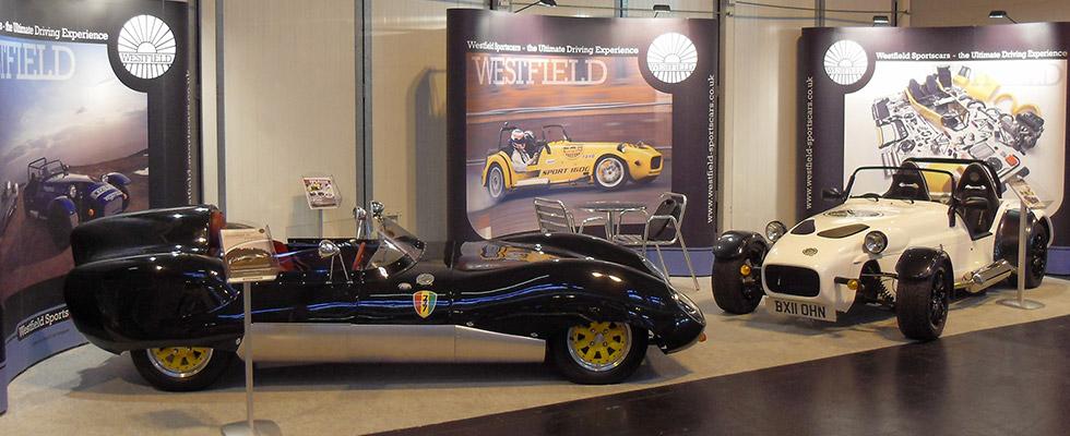 Westfield at the Classic Motorshow